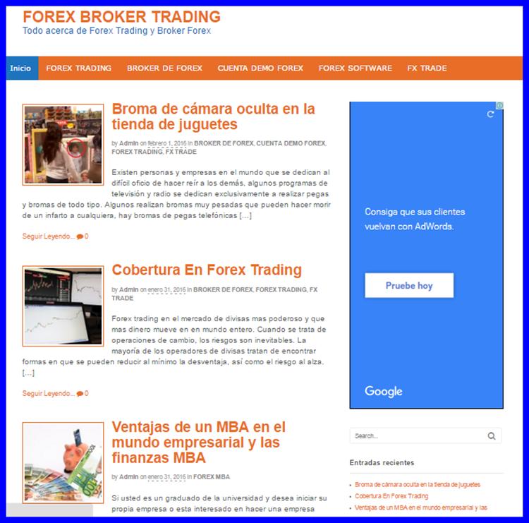 Blog para ganar dinero con Google adsense