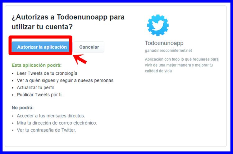 Instalar App Twitter