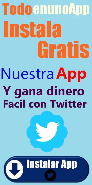 App para ganar dinero con Twitter
