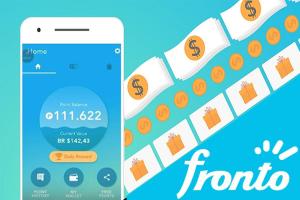 Gana dinero desde tu celular con Fronto App.