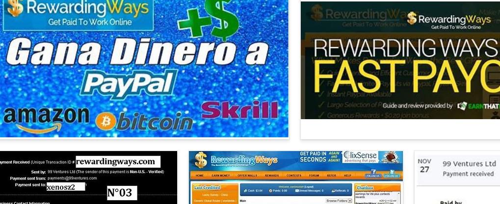 rewardingways ganar dinero